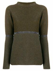 Fabiana Filippi fine knit top - Green