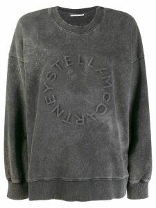 Stella McCartney logo detail sweatshirt - Grey