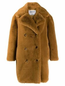 S.W.O.R.D 6.6.44 faux fur coat - Brown