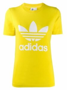 Adidas short sleeved logo T-shirt - Yellow