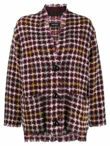 Isabel Marant tweed cardi-coat - Pink