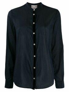 Forte Forte long sleeved cotton shirt - Blue
