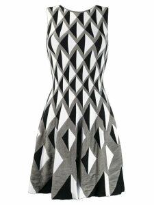 Antonino Valenti geometric print dress - Grey