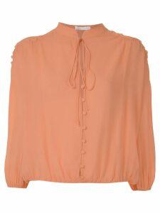 Nk Romain Drop Florence silk blouse - Pink