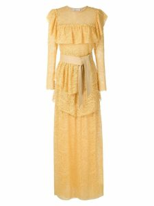 Nk West Apolo lace dress - Yellow