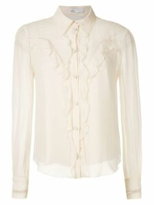 Nk Georgette West Molly silk shirt - White