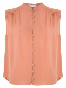 Nk Romain Drop Fiona silk shirt - Pink