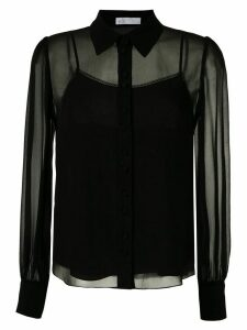 Nk Power Teresa silk shirt - Black