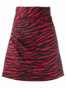 P.A.R.O.S.H. Pebra skirt - Black