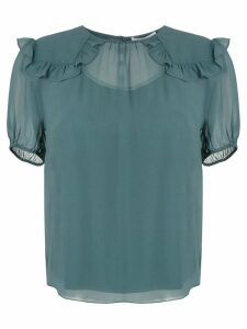 Nk Power Titi silk blouse - Green