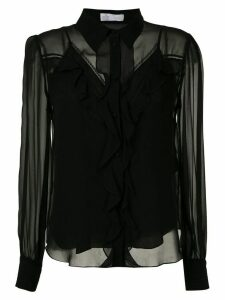 Nk West Molly silk shirt - Black