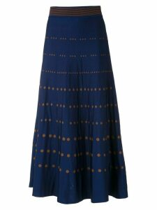 Nk a-line Poá Sabrina skirt - Multicolour