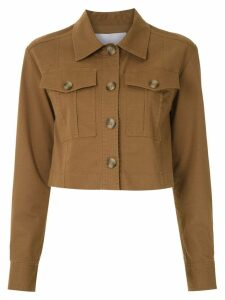 Nk Pistol Cecilha cropped jacket - Brown
