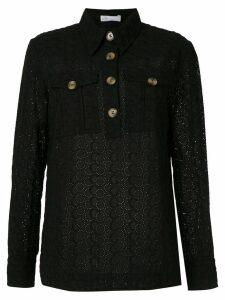 Nk broderie anglaise Karin shirt - Black