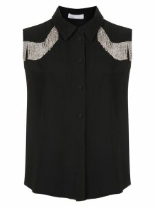 Nk Sal Samara embellished shirt - Black
