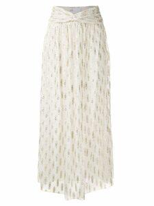 Nk Navajo Dora silk skirt - Neutrals
