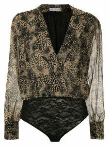 Nk Asas Keiko silk bodysuit - Black
