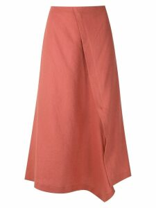 Alcaçuz Mafalda wrap skirt - Orange