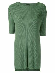 Osklen ribbed knit blouse - Green