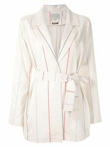 Alcaçuz Mirela belted coat - White
