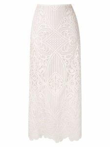 Nk Amazonas Mariane midi skirt - White