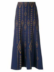 Nk Rita jacquard midi skirt - Multicolour