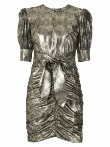 Nk snake effect Sue dress - Metallic
