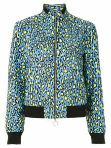 Reinaldo Lourenço animal print bomber jacket - Multicolour