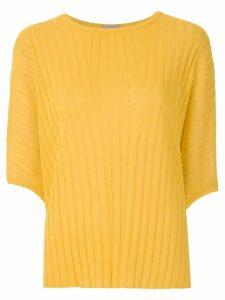 Alcaçuz Naila knit blouse - Yellow