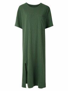 Osklen Rustic New midi dress - Green