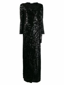 P.A.R.O.S.H. Runway sequin gown - Black
