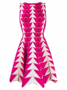 Antonino Valenti arrow print dress - Pink