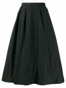 Rochas A-line midi skirt - Black