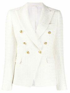 Tagliatore Jalicya blazer - White
