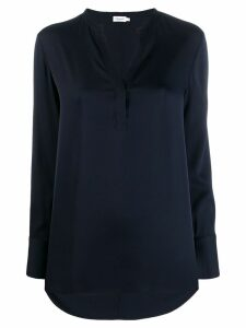 Filippa-K slit detail blouse - Blue