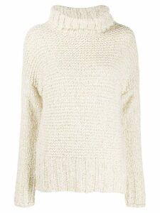 Snobby Sheep chunky knit jumper - White