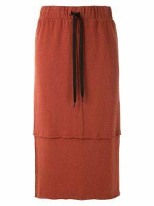 Uma Raquel Davidowicz Meridien knit skirt - Red