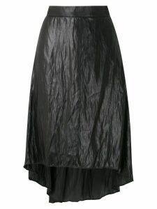 Uma Raquel Davidowicz Malone midi silky skirt - Grey