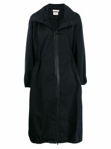 Bottega Veneta oversized mid-length coat - Black