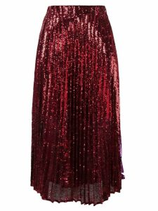 Philosophy Di Lorenzo Serafini sequin embroidered skirt
