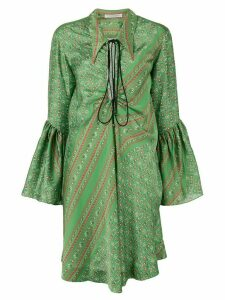 Philosophy Di Lorenzo Serafini ruffled sleeve dress - Green