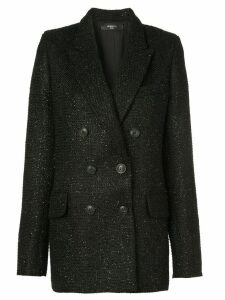 AMIRI tweed blazer - Black