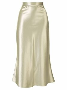 Christopher Esber The Bias midi skirt - SILVER
