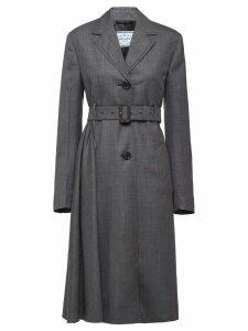 Prada belted coat - Grey