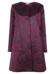 Isolda printed coat - PINK