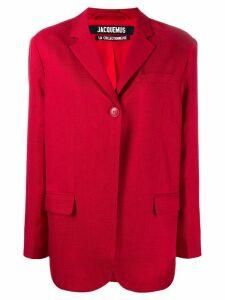 Jacquemus Moyo blazer - Red