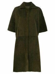32 Paradis Sprung Frères Cedar coat - Green
