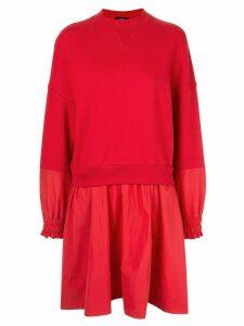 Goen.J layered sweatshirt dress