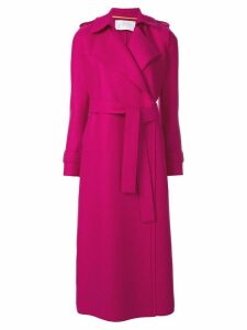Harris Wharf London belted trench coat - Purple