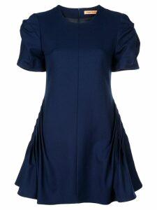 Maggie Marilyn gathered skater dress - Blue